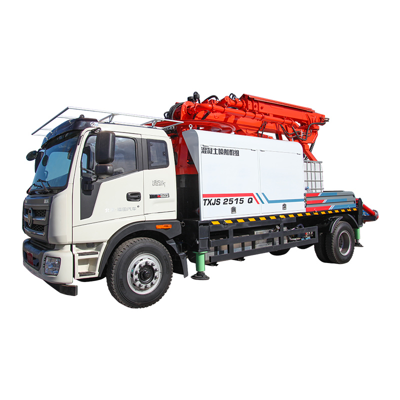 Advantages and Features of Concrete Spraying Manipulator with Automotive Chassis