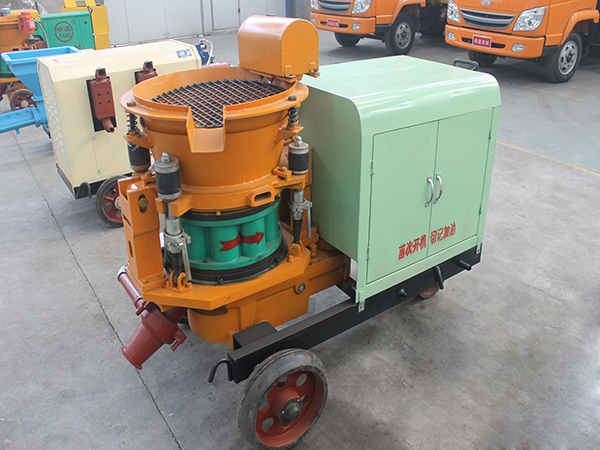 ssp wet and dry shotcrete machine