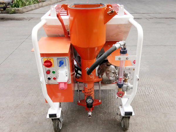 Automatic spraying machine