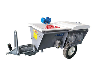 Mortar spraying machine
