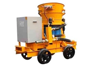 Explosion-Proof Mine Shotcrete Machine PC Series
