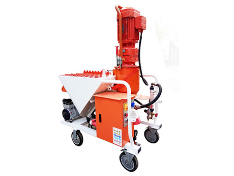 Automatic Plaster Spraying Machine