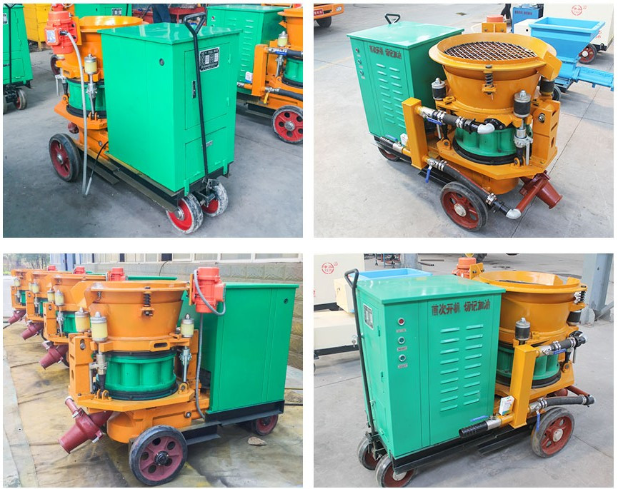dry electrical shotcrete machine