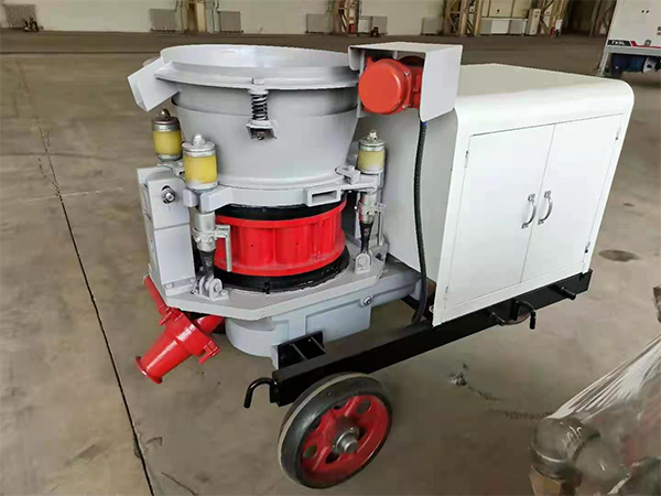 Electric dry shotcrete machine price