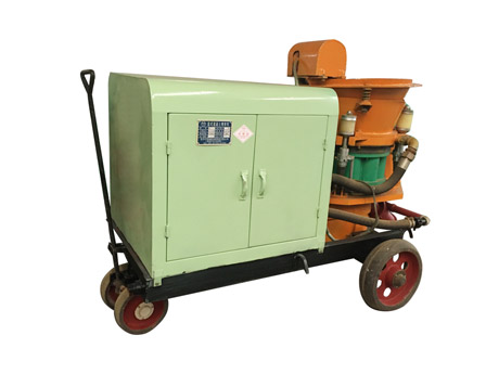Wet and Dry-mix Concrete Spraying Machine SSP Series